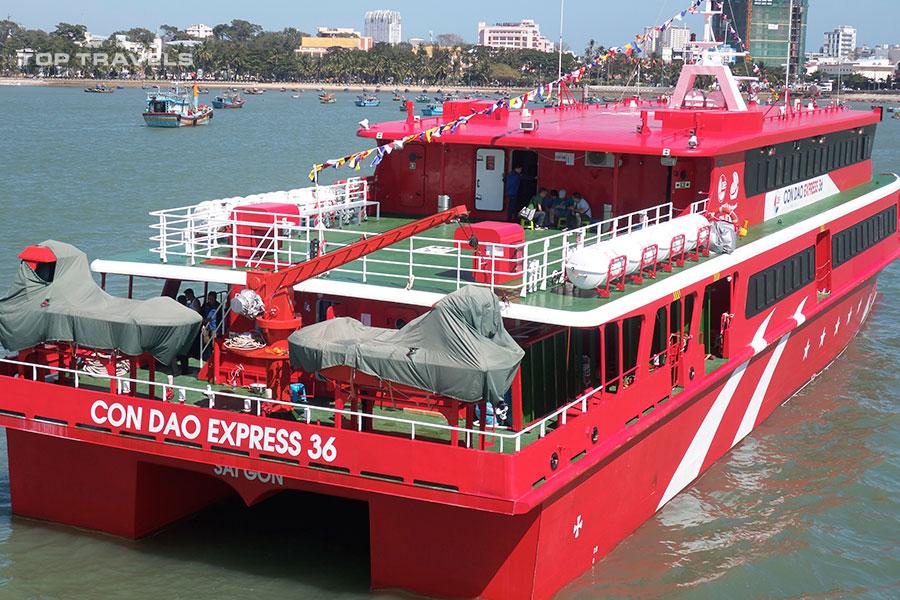 Đặt Vé Tàu Cao Tốc Vũng Tàu Đi Côn Đảo